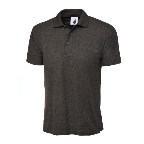 Uneek Uc101 Charcoal Grey Polo Shirt 220G
