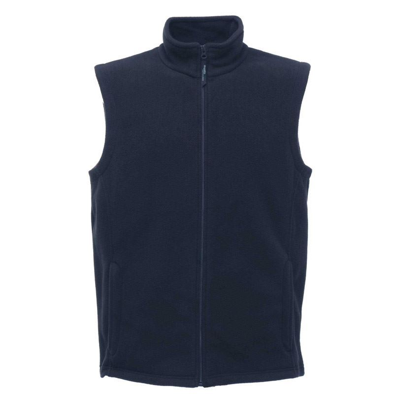 Regatta TRA801 Micro Body Warmer Fleece Taped Neckline