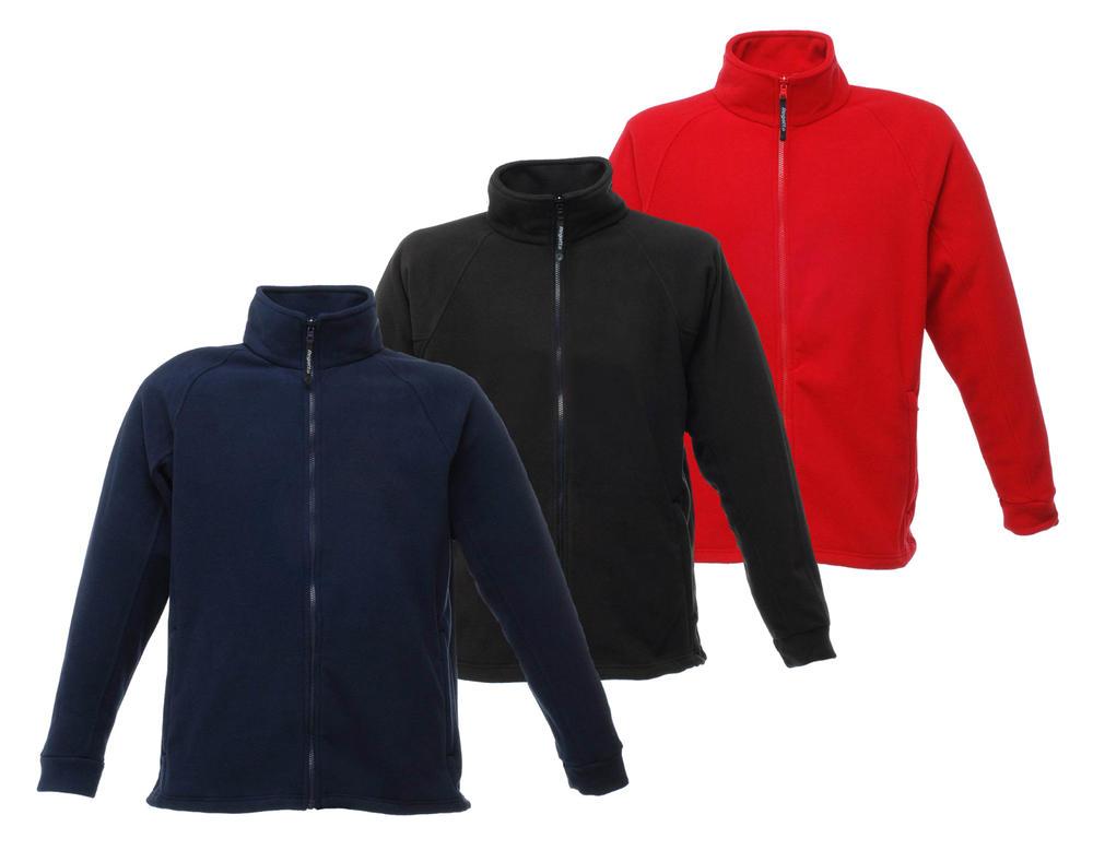 Regatta TRF532 Thor III Fleece - Various Colours Anti-Pill Symmetry Fleece Cuffs