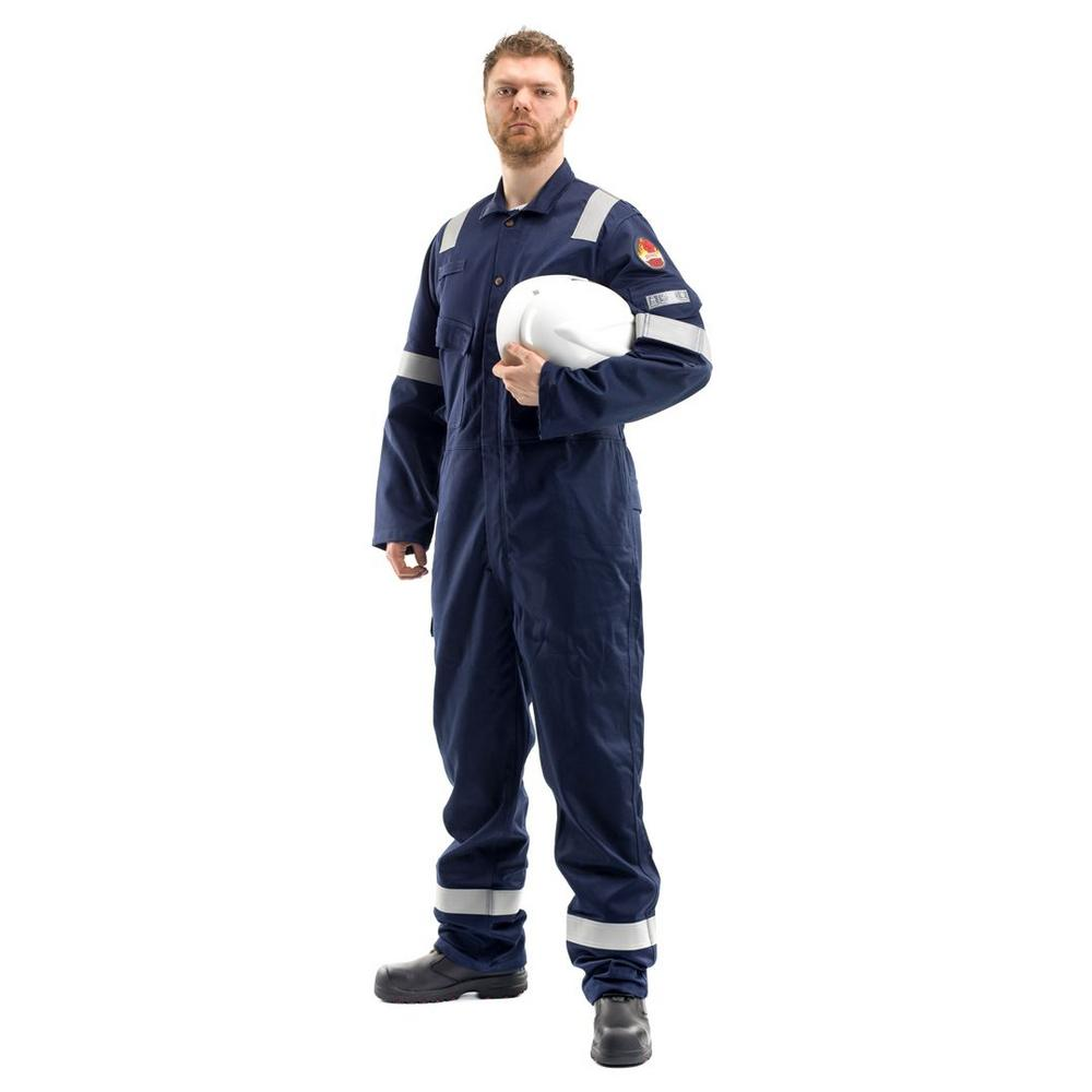 Roots RO13090LW 250gm Flamebuster Nordic Lightweight Coverall - Navy