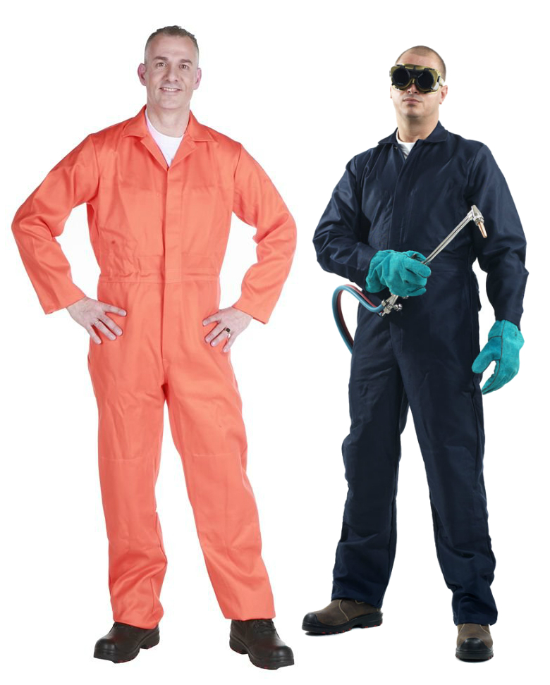 Roots RO13310 ArcBuster FR Welders Overall Fire Resistant Work Coverall