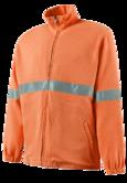 Roots RO14590 Protective Nordic Flame Retardant Fleece Jacket Hi Vis Orange