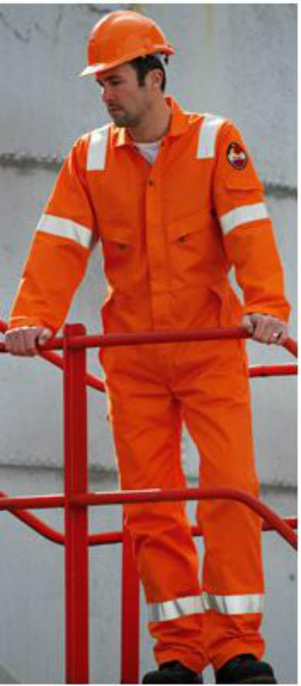 Roots RO19090LW - Orange Flamebuster Xtreme 170 Nordic Coverall