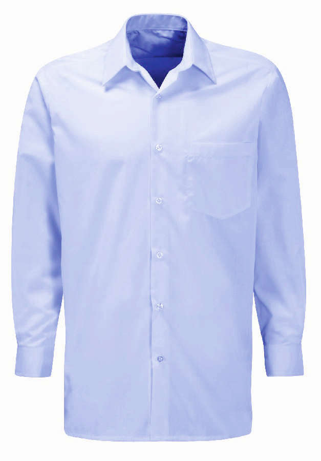 Orbit Classic Pale Blue Long Sleeve Shirt CSLS