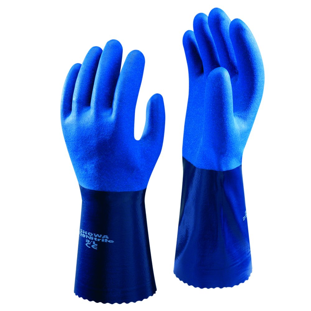 Showa 720R Nitrile Oil & Chemical Resistant Gauntlet