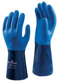 Showa 720R Nitrile Waterproof High Grip Oil & Chemical Resistant Gauntlet