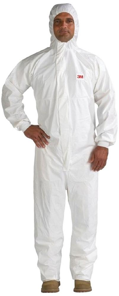 3M 4545 Disposable Protective Coverall Type 5/6 Standards White