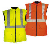 Sioen Arras 1148 Hi Vis Yellow Windproof, Stretchable & Waterproof Bodywarmer