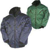 Sioen Hawk 027AA Multi-functional With Detachable Sleeves Jacket - Navy