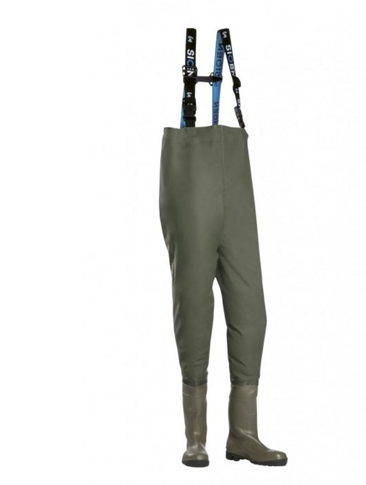 Sioen Manton 6281 Texoflex Chest Waders S5 WP SRC Safety Boots