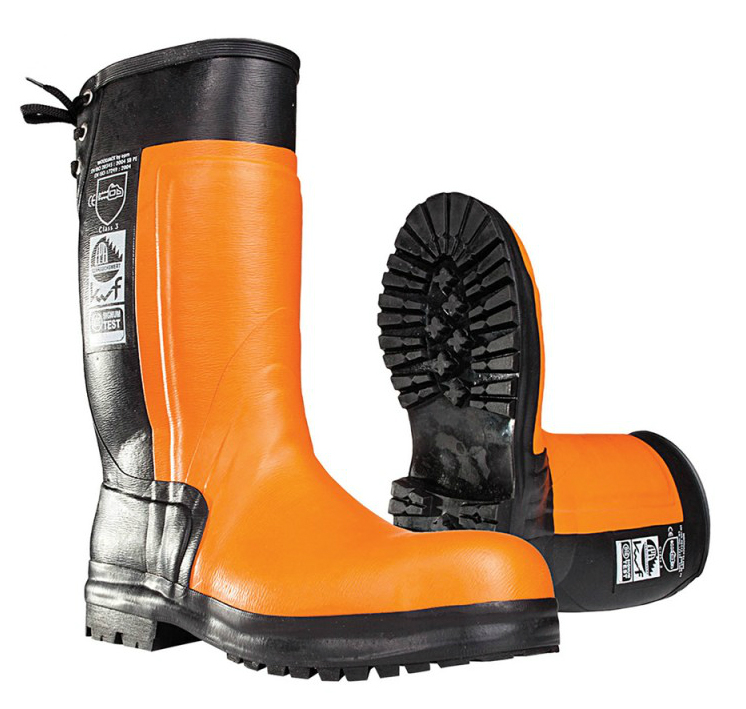 SIP Forestry 3SD7 Class-3 Chainsaw Protection Wellington Boots