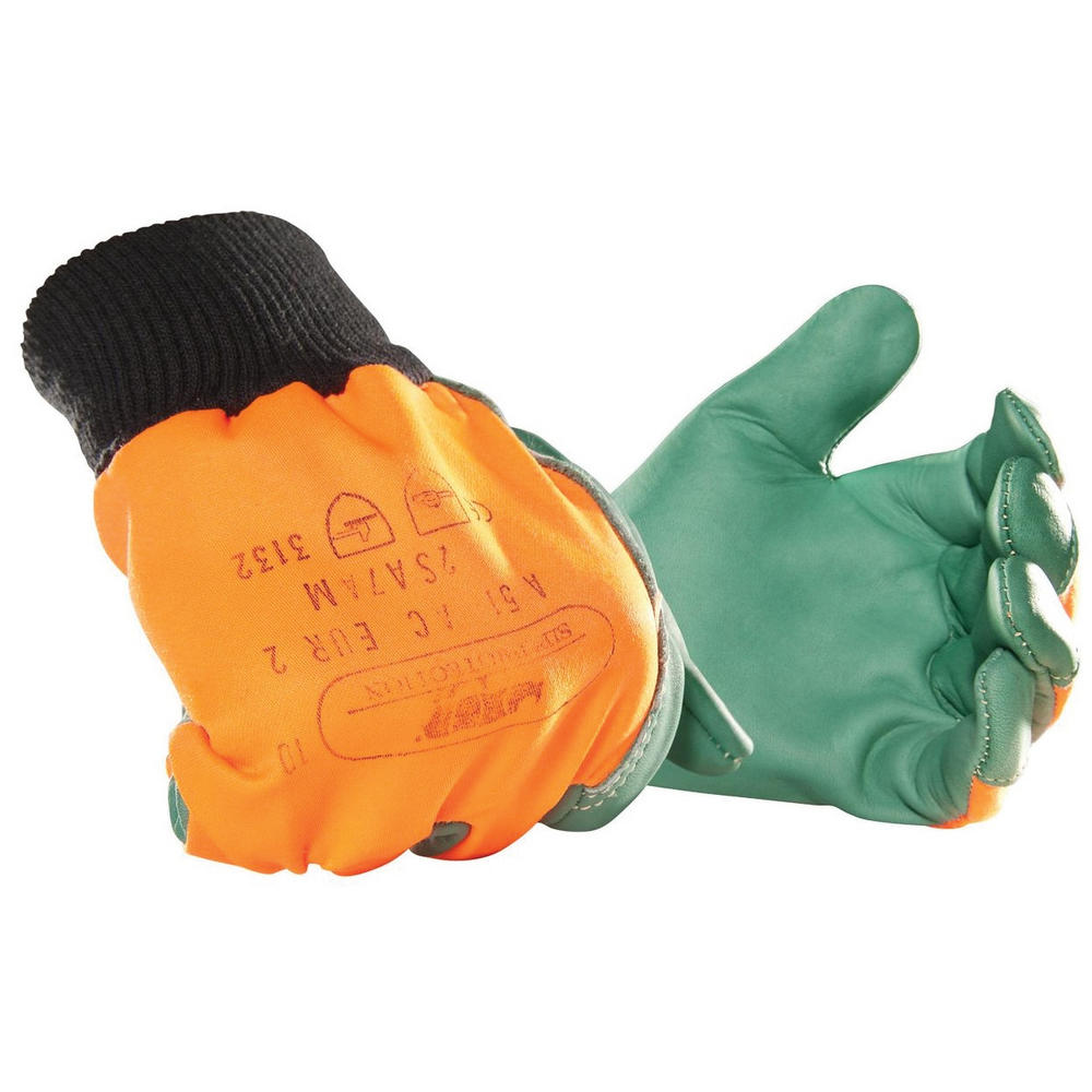 SIP Leather Chainsaw Protection Gloves 2SA7 Type A Protection
