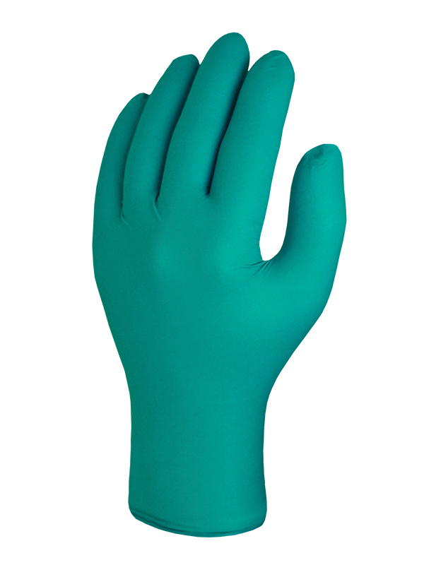 Skytec Teal Nitrile Disposable Powder Free Gloves (box of 100)