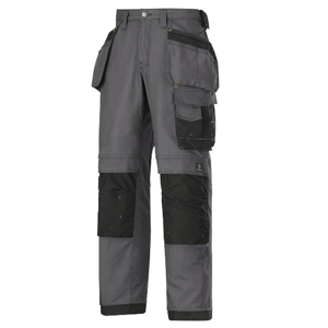 Snickers Workwear 3214 Holster Work Trousers Knee Pads Multipockets Various Colo