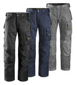 Snickers Workwear 3312 Craftsmen DuraTwill Contractors Mens Work Trousers