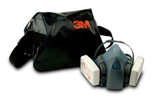 3M 106 Carry Case For Respirators & Face Mask Black