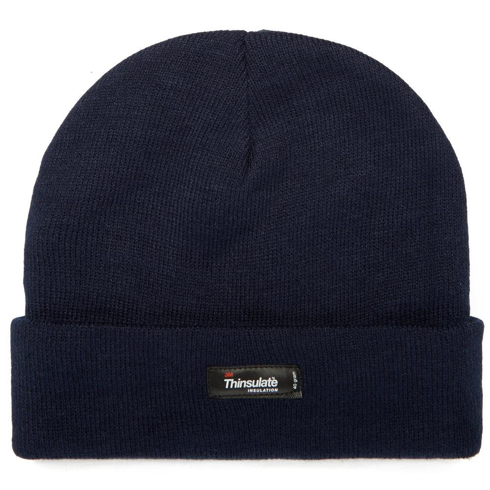 Thinsulate Extra Warmth Comfortable Navy Woolly Hat