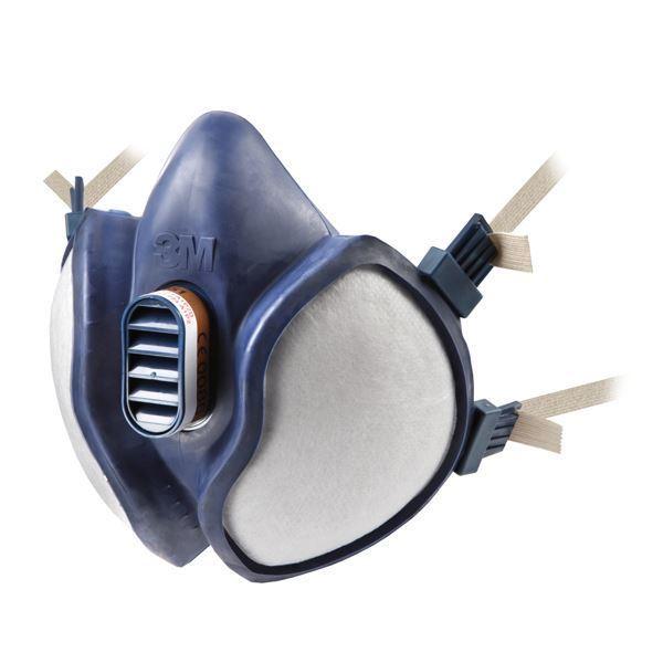 3M 4255 FFA2P3D Half Mask Reusable Respirator