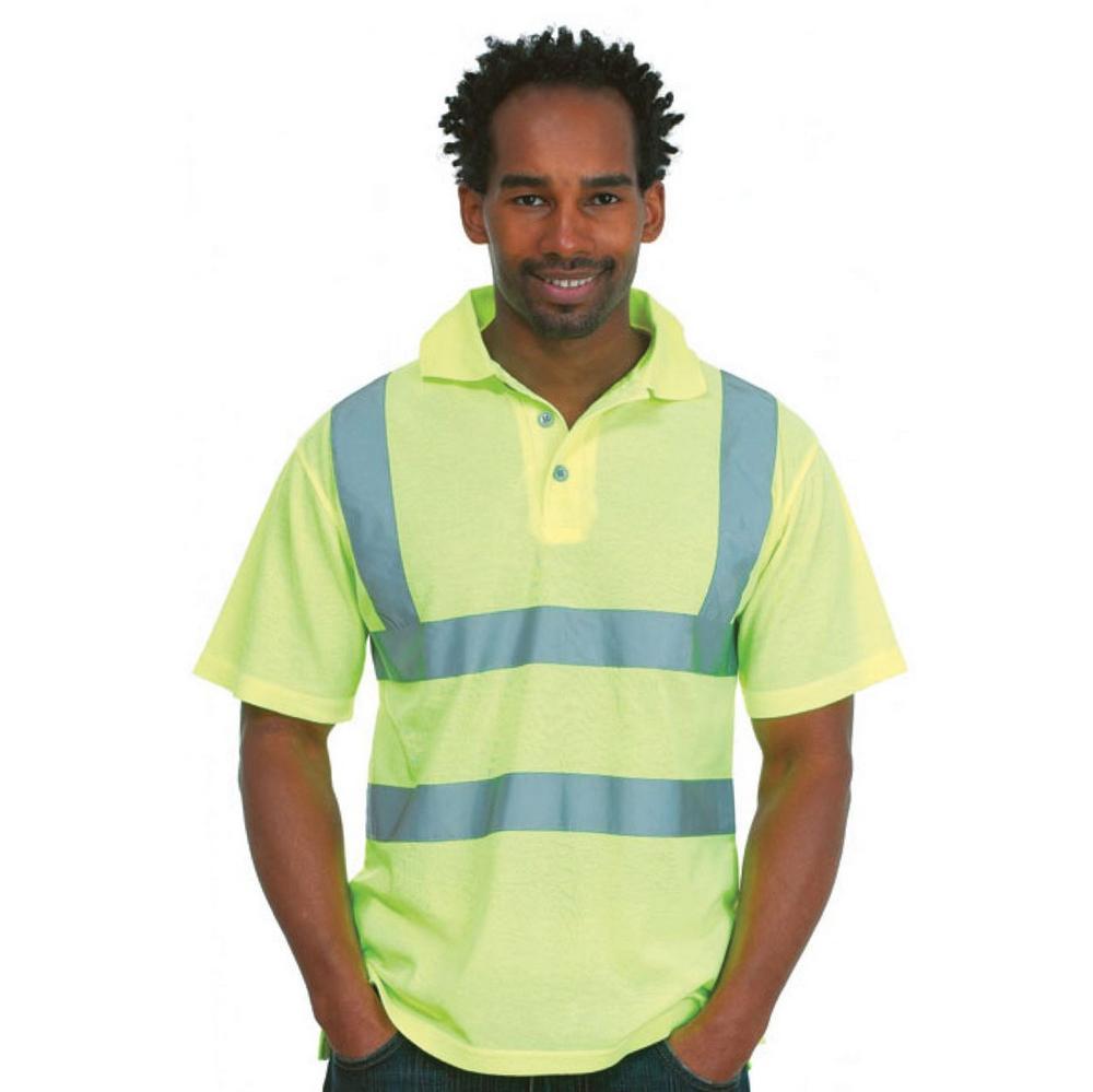 Uneek Hi Vis 100% Polyester Polo Shirt UC805