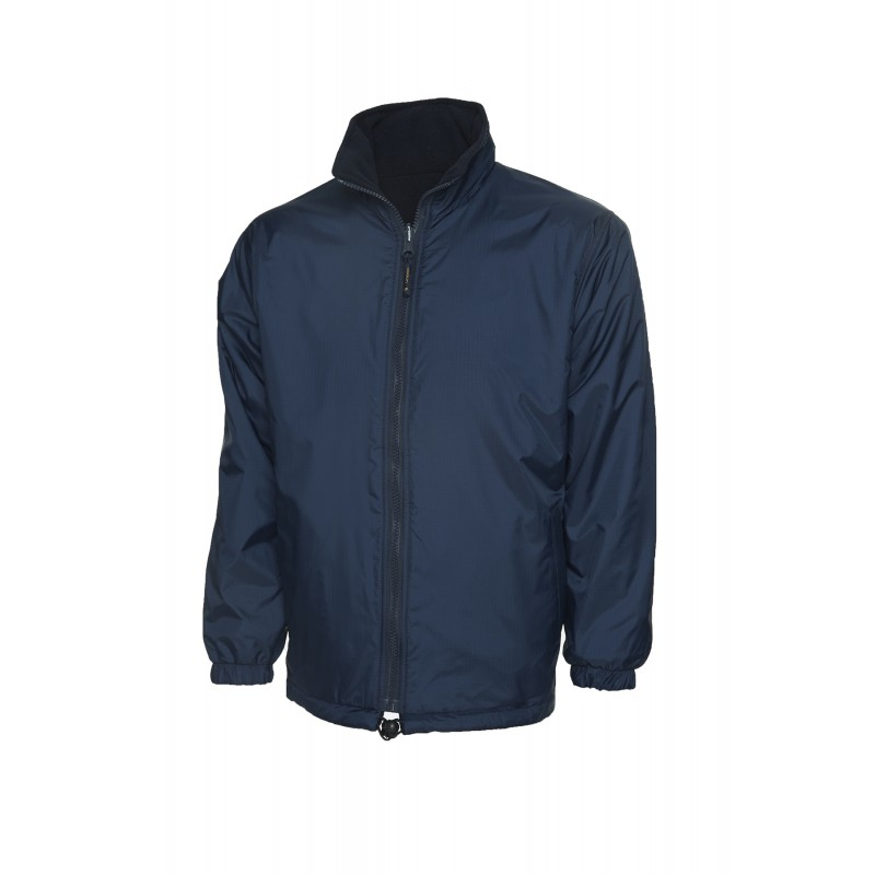 Uneek Windproof Softshell Reversible Fleece Jacket UC605