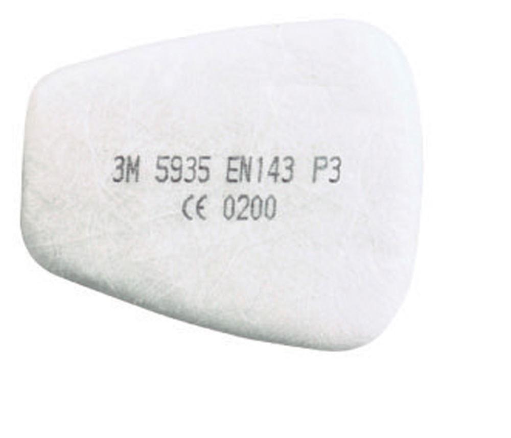 3M 5935 P3 Dust & Mist Filters 1 Pair