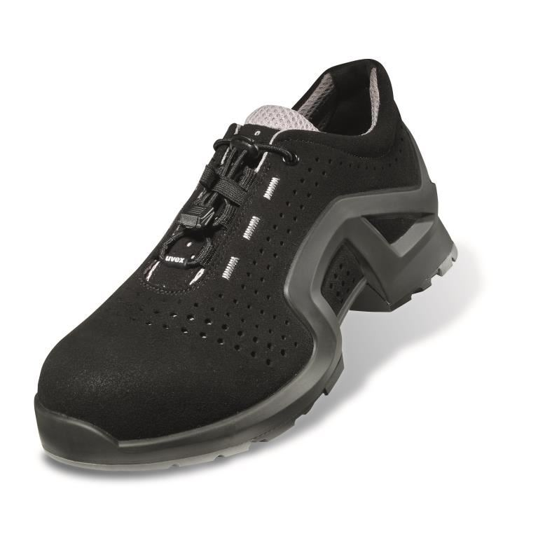 Uvex 1 X-Tended 8511 Safety Trainer Shoe Metal-Free ESD Black