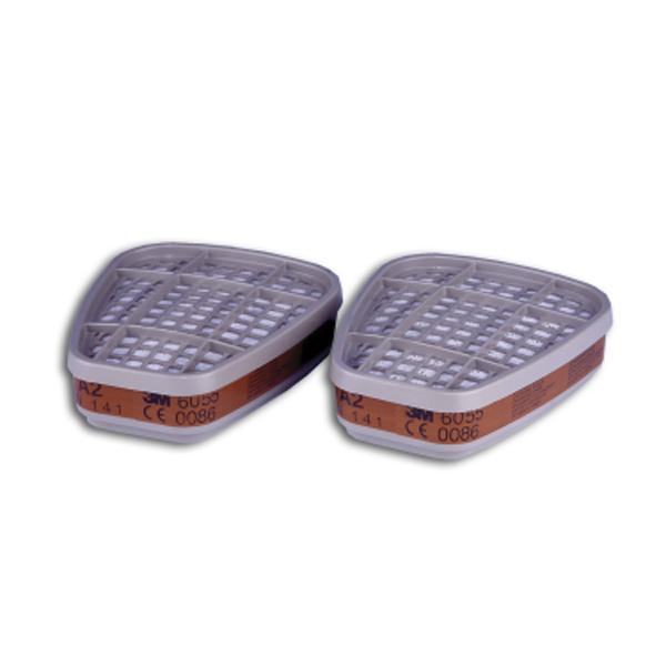 3M 6055 A2 Organic Vapour Filter (8 Pack)