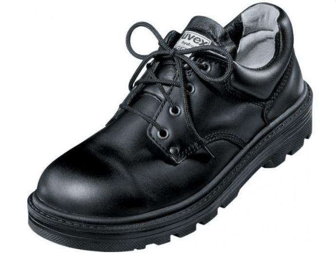 9c6377de009 Uvex 8450/9 Classic Lace Up Steel Toe Cap Black Safety Shoe
