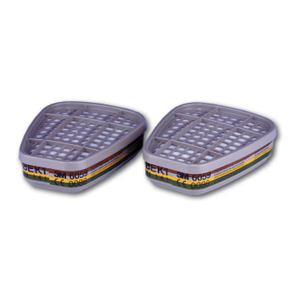 3M 6059 ABEK1 Gas & Vapour Filter 1 Pair