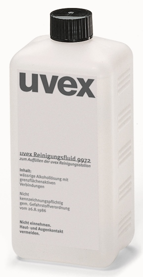 Uvex 9972-100 500Ml Cleaning Fluid - Refill