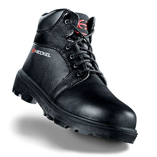 Uvex Heckel Flag Titane Metal Free Safety Boots Water resistant Leather Black