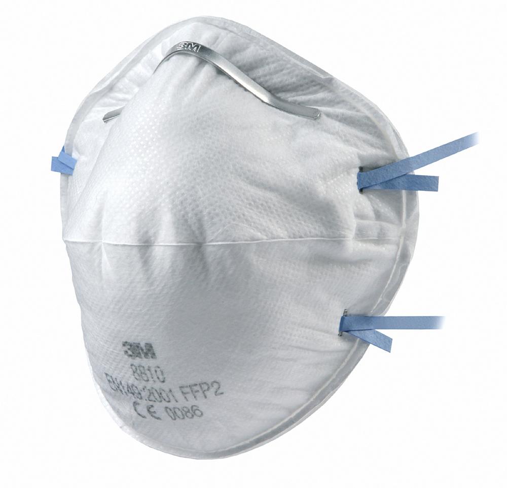 3M 8810 FFP2 Unvalved Respiratory Mask (20 Pack)