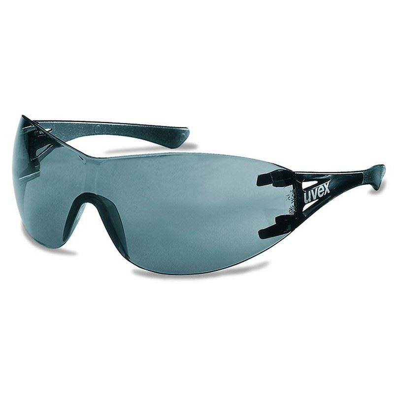 Uvex X-Trend 9177-281 Safety Spectacle Warparound Polycarbonate Grey Lens