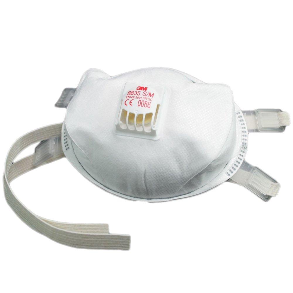 3M 8835 FFP3D Valved Mask (5 Pack)