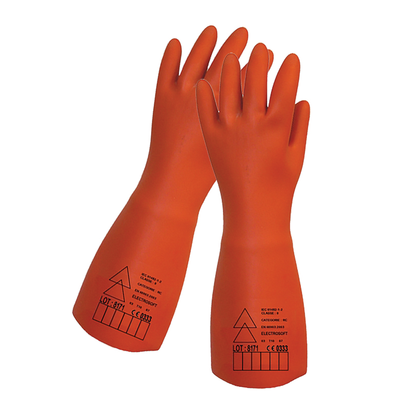 "Honeywell 2092002 Electrosoft Class 0 5,000v Isoarc 14"" Electricians Glove"