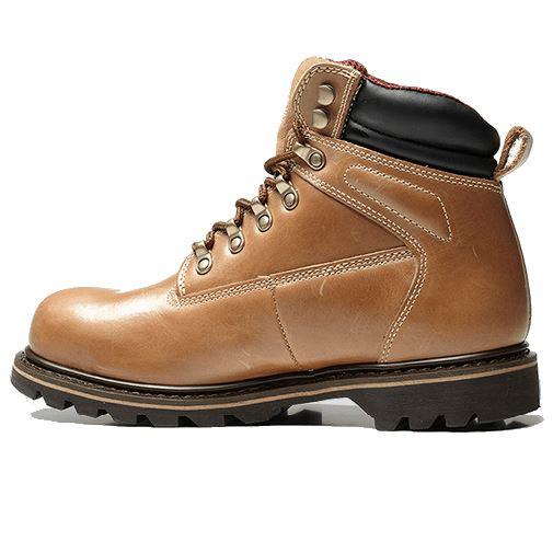 V-Tech V12 MOHAWK Safety Work Boots Vintage Leather Chukka Steal Toe Cap Midsole