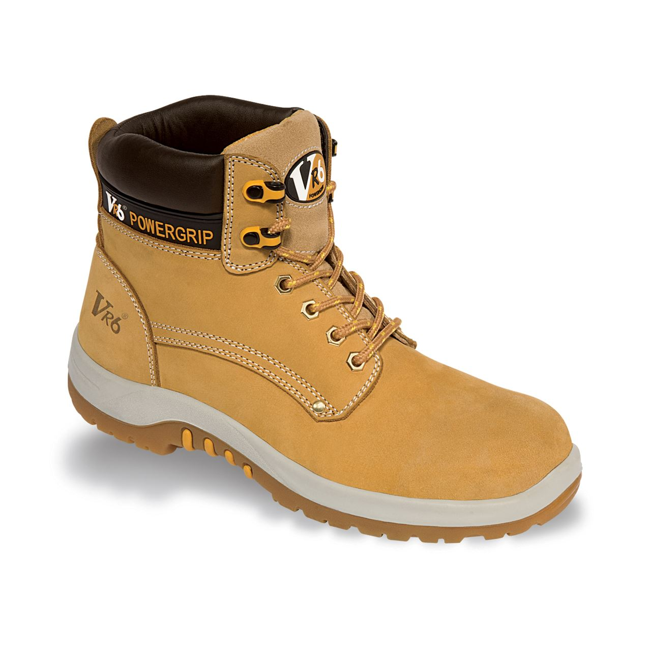 V12 Puma Unisex Honey Nubuck Safety Boot VR602 Leather Steel Midsole S3
