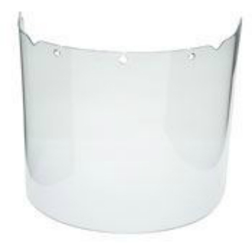 MSA B1280005 Clear Anti-fog & Anti-scratch Visor For Helmet