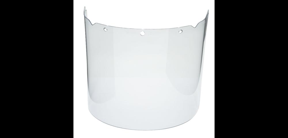 MSA B1280005 Clear Anti-fog & Anti-scratch Acetate Full Face Visor For Helmet