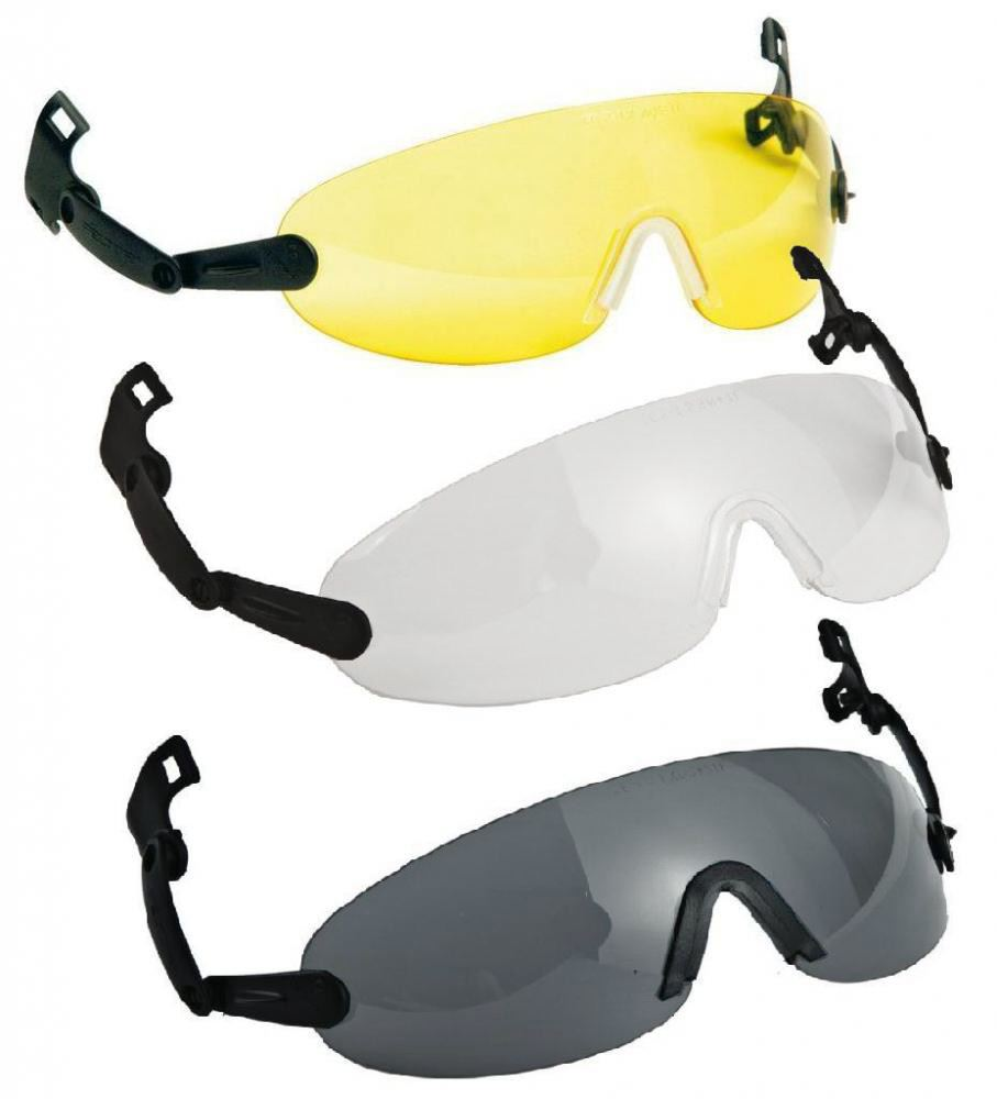 3M Integrated Eye Protection V6 Series Various Lens Colours