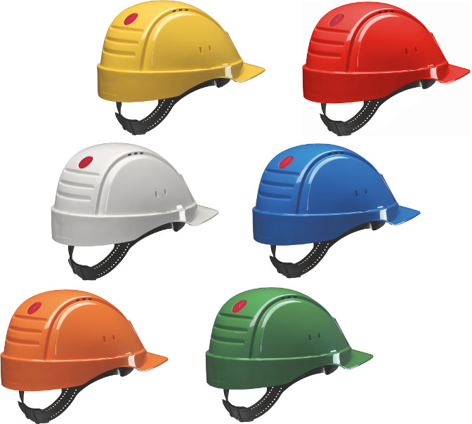 3M Peltor G2000CUV Solaris Safety Helmet Uvicator Sensor Various Colours