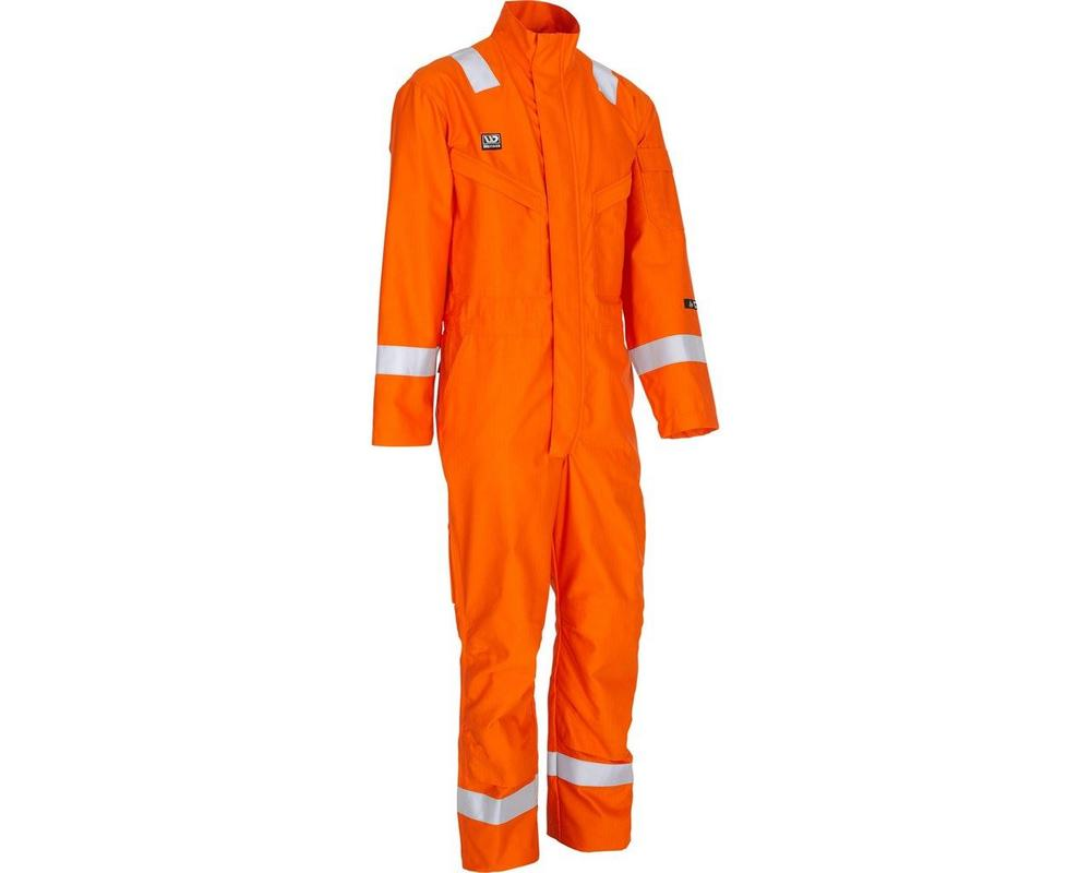 6b827ab8f894 Wenaas 80920-15511 Offshore Hi Vis Flame Resistant Daletec Overall Work FR  Coverall