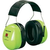 3M Peltor H540A-461-GB Optime III Headband Ear Muffs Hi Vis Green