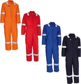 Wenaas Ambassador 350gsm Insulated FR Coverall 81750-196 Various Colours