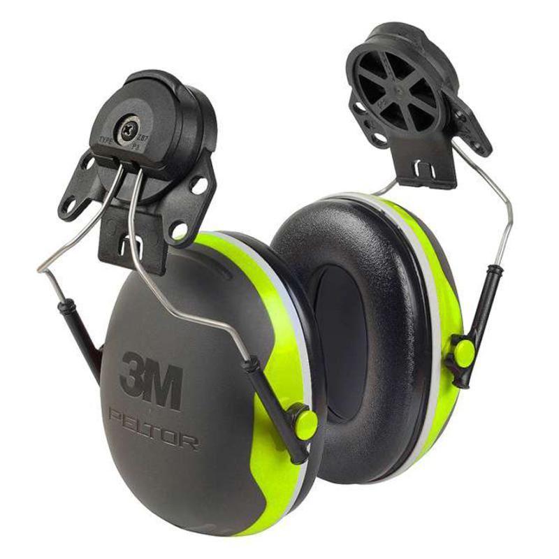 3M Peltor X4P3 Ear Defenders SNR32dB Helmet Attachment Green