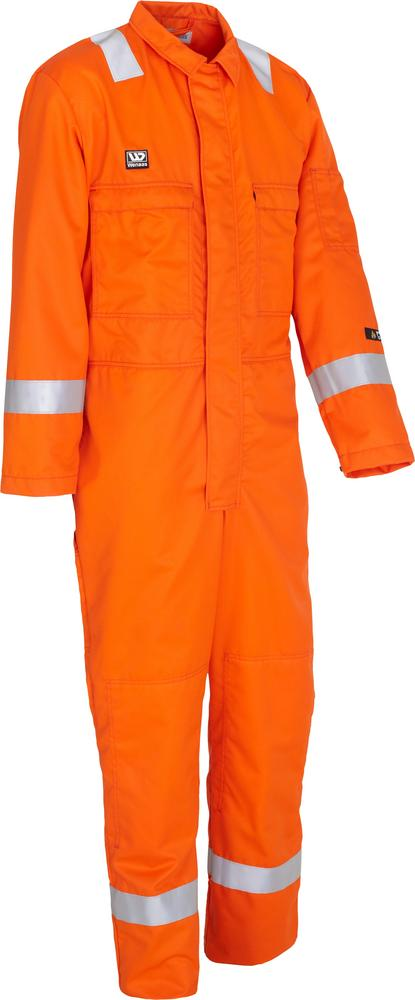Wenaas 80926-16101 Nomex Aramid Flame Retardant Electric Arc Portection FR Coverall