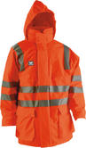 Wenaas parka Flame Resistant Waterproof Hi Viz Orange Storm Jacket 96904-187-28