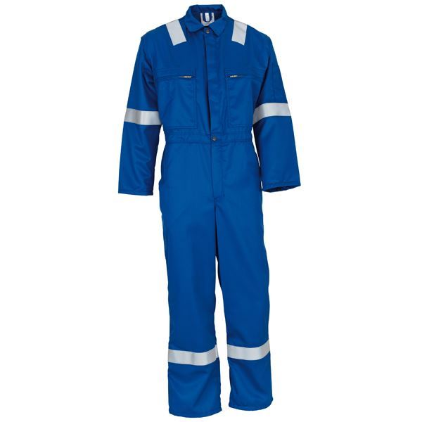 Wenaas Nomex 3 Flame Retardant Type Aramid FR Coverall 81751-1610 260gsm - Royal Blue