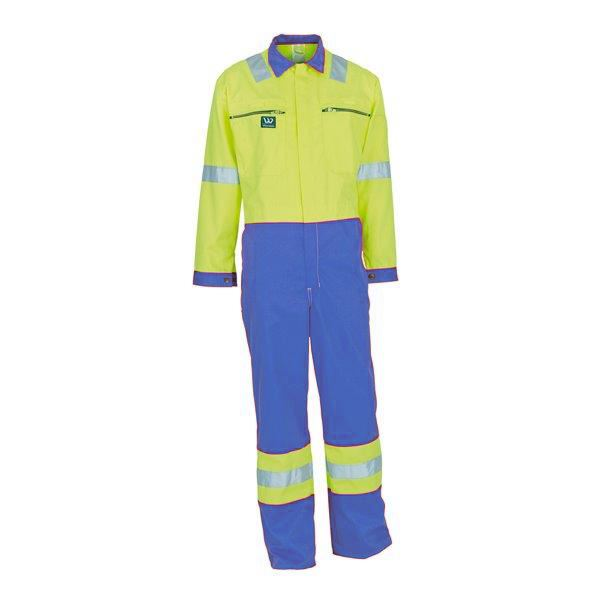 Wenaas Offshore FR Coverall 80821-1022-3245 Royal Blue/Yellow