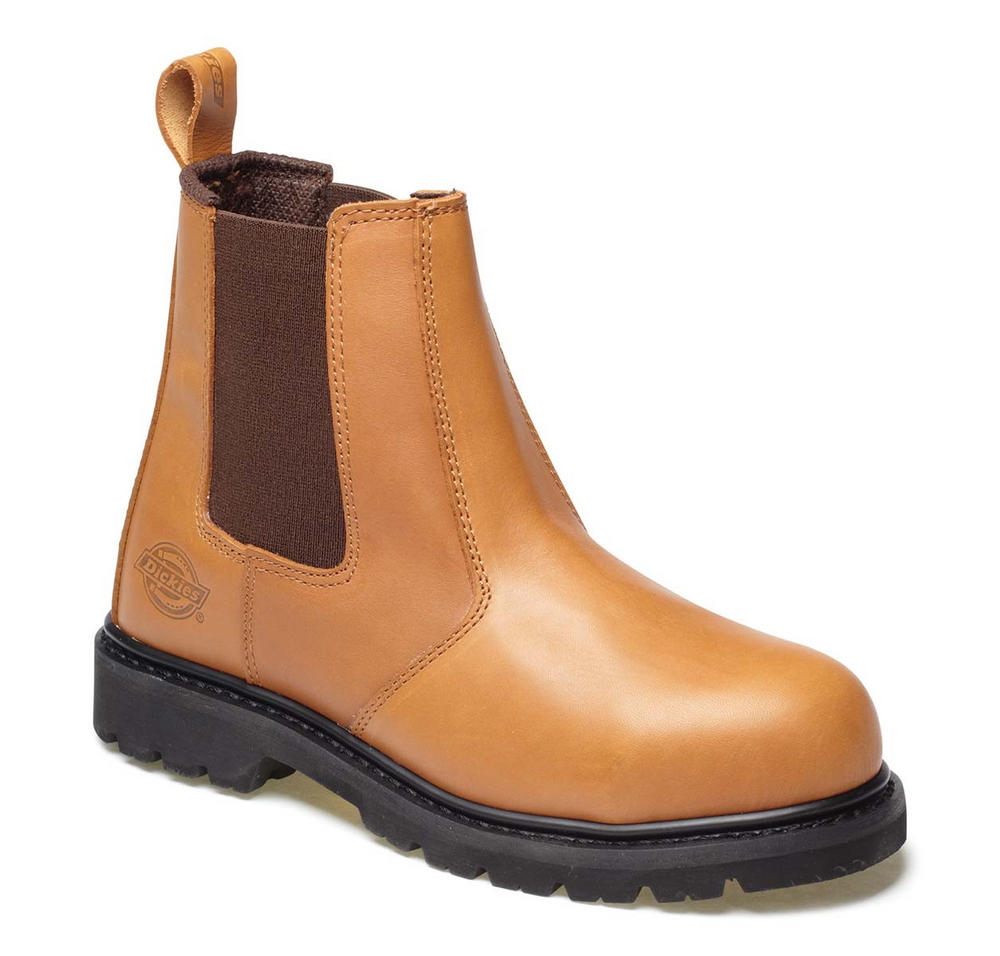 Dickies FD22200 Chestnut Brown Dealer Boot